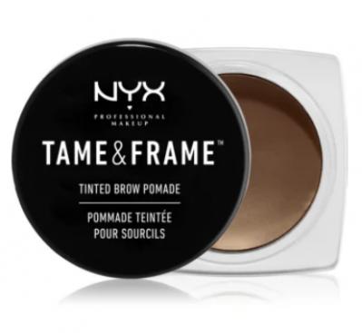 NYX Professional Makeup pomáda na obočie Tame & Frame Brow