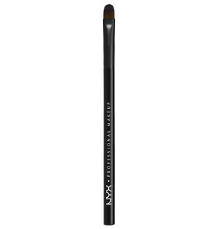 NYX Professional Makeup Plochý detailní štětec Pro Flat Detail Brush