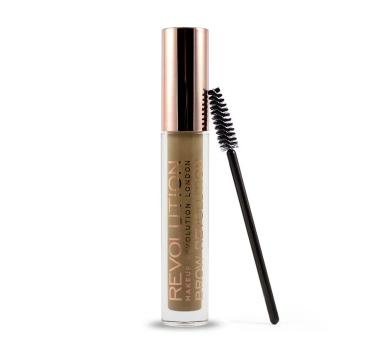 Makeup Revolution Brow Fixačný gél na obočie