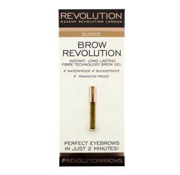 Makeup Revolution Brow Fixační gel na obočí
