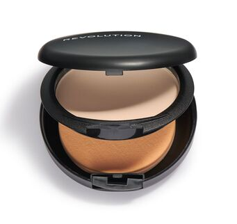 Makeup Revolution PRO Powder Foundation Pudrový make-up