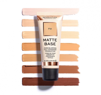 Makeup Revolution Zmatňujúci make-up Matte Base