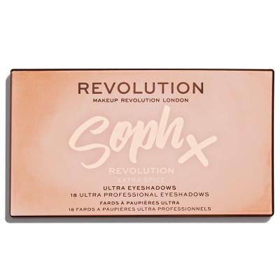 Makeup Revolution X Soph Extra Spice Paleta očných tieňov