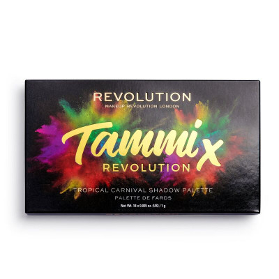 Makeup Revolution X Tammi Tropical Carnival paleta očných tieňov