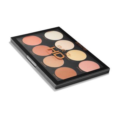 Makeup Revolution Kontúrovacia paleta HD Mega Matte