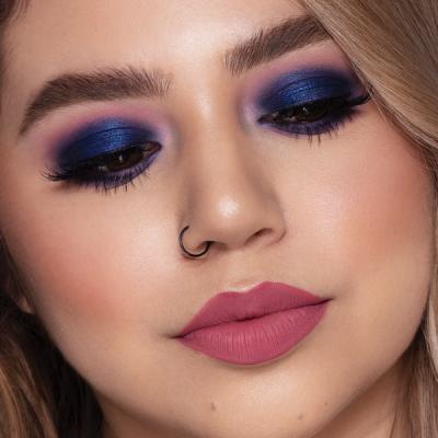 Milani Paleta tieňov na oči a tvár Gilded Violet Hyper-Pigmented Eye & Face Palette