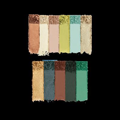Milani Paleta tieňov na oči a tvár Gilded Jade Hyper-Pigmented Eye & Face Palette