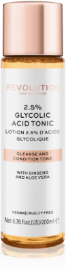 Revolution Skincare Pleťové tonikum  2.5% Glycolic Acid