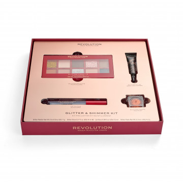 Makeup Revolution Darčeková sada Glitter & Shimmer kit