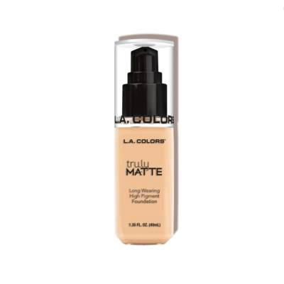 L.A. Colors Vysokokrycí make-up Truly Matte Foundation