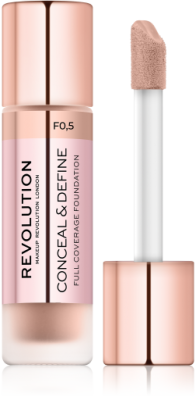 Makeup Revolution Krycí make-up Conceal & Define Foundation