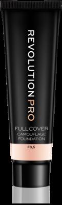 Makeup Revolution Krycí make-up PRO Full Cover Camouflage Foundation
