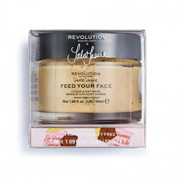 Revolution Skincare X Jake Jamie Cocoa & Oat Moisturising Face Mask Maska na tvár