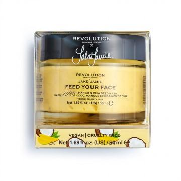 Revolution Skincare X Jake Jamie Coconut Mango & Chia Seed Radiant Glow Face Mask Maska na obličej