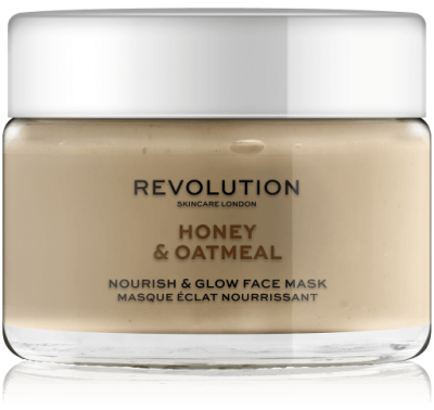 Revolution Skincare Honey & Oatmeal Nourish &  Glow Face Mask Maska na tvár