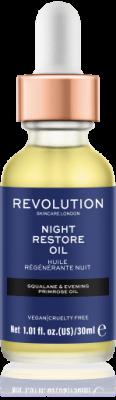 Revolution Skincare Night Restore Oil Hydratační olej na pleť
