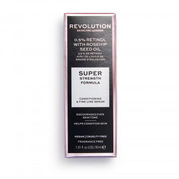 Revolution Skincare Extra 0.5% Retinol Serum with Rosehip Seed Oil Sérum na pleť