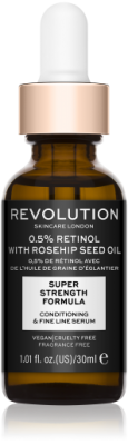 Revolution Skincare Extra 0.5% Retinol Serum with Rosehip Seed Oil Sérum na pleť
