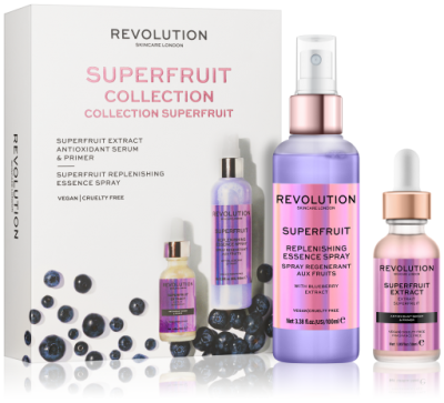 Revolution Skincare Superfruit Serum & Spritz Sada na rozjasnenie pleti