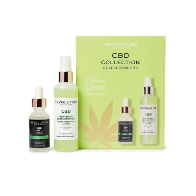 Revolution Skincare Nourishing Oil & Spritz Sada na hydratáciu pleti
