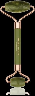 Revolution Skincare Jade Roller Masážny valček na tvár