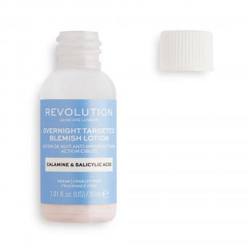Revolution Skincare Overnight Targeted Blemish Lotion Lokální sérum na vyrážky