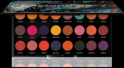 Makeup Revolution Paleta očních stínů Creative Vol 1.