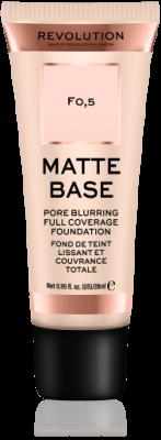 Makeup Revolution  Matte Base Zmatňujúci make-up