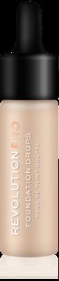 Makeup Revolution PRO Foundation Drops Makeup s pumpičkou