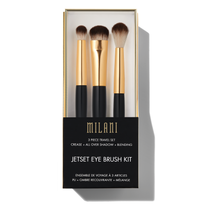 Milani Cosmetics Jet Set Eye Brush Kit Sada štetcov