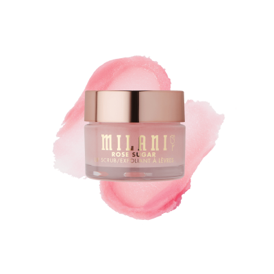 Milani Cosmetics Rose Sugar Lip Scrub Peeling na pery