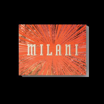 Milani Cosmetics Gilded Ember Eyeshadow Palette Paleta očních stínů