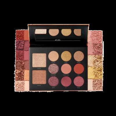Milani Cosmetics Gilded Ember Eyeshadow Palette Paleta očných tieňov