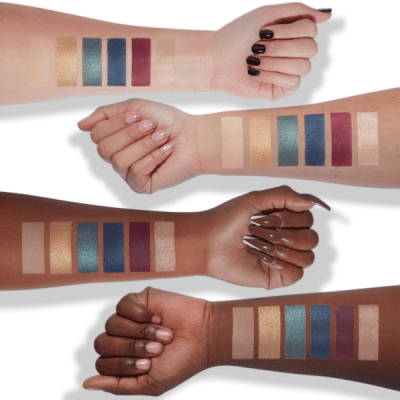 Milani Cosmetics Most Wanted Eyeshadow Palette Jewel Heist