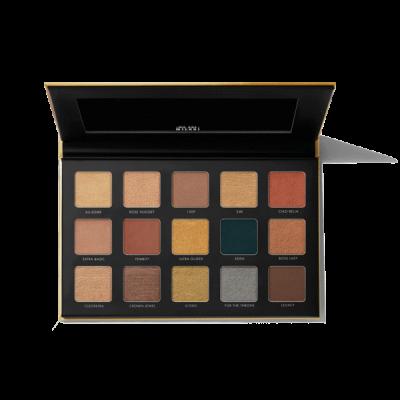 Milani Cosmetics Gilded Gold Eyeshadow Palette Paleta očných tieňov