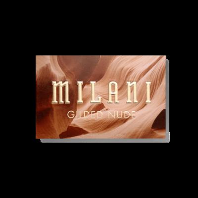 Milani Cosmetics Gilded Nude Eyeshadow Palette Paleta očních stínů