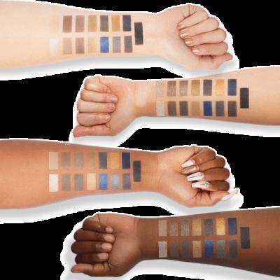 Milani Cosmetics Gilded Coast Eyeshadow Palette Paleta očných tieňov