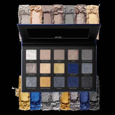 Milani Cosmetics Gilded Coast Eyeshadow Palette Paleta očních stínů