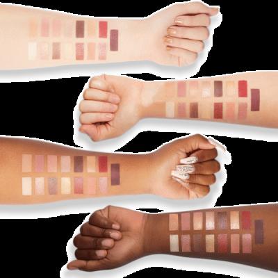 Milani Cosmetics Gilded Luster Eyeshadow Palette Paleta očných tieňov