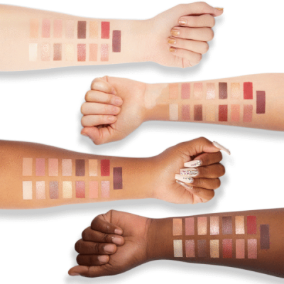Milani Cosmetics Gilded Luster Eyeshadow Palette Paleta očních stínů
