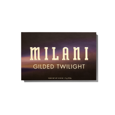 Milani Cosmetics Gilded Twilight Eyeshadow Palette Paleta očných tieňov