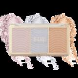 Milani Cosmetics Stellar Lights Highlighter Palette Holographic Beams Paleta rozjasňovačov