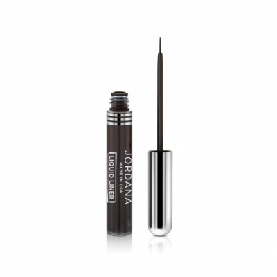 Jordana Liquid Liner Dark Brown Tekutá očná linka