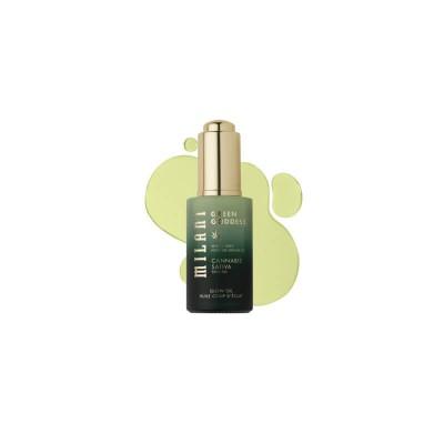Milani Upokojujúci olej Green Goddess Glow Oil