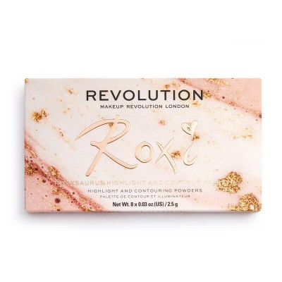 Makeup Revolution Paleta na obličej Roxxsaurus Roxi Highlight & Contour Palette