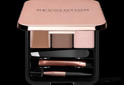 Makeup Revolution Súprava na úpravu obočia Brow Sculpt Kit Brown