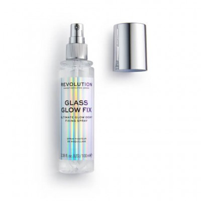 Makeup Revolution Fixační sprej na make-up Glass Glow Fix