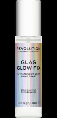 Makeup Revolution Fixačný sprej na make-up Glass Glow Fix
