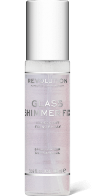 Makeup Revolution Fixační sprej Glass Shimmer Fix