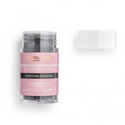 Makeup Revolution Skincare Čistící pudr Purifying Charcoal Cleansing Powder